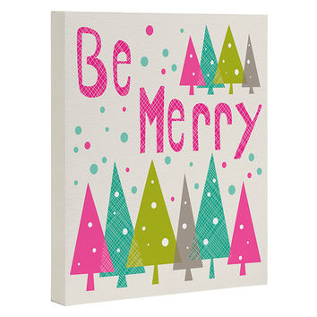 Heather Dutton Be Merry Art Canvas