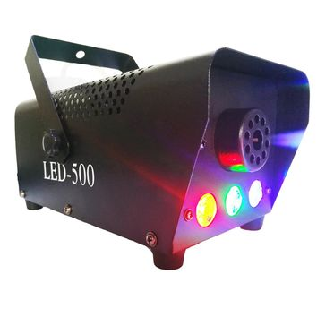 RGB LED Lights 400 Watt Portable Mini Fog Smoke Machine Remote 1258e94d6