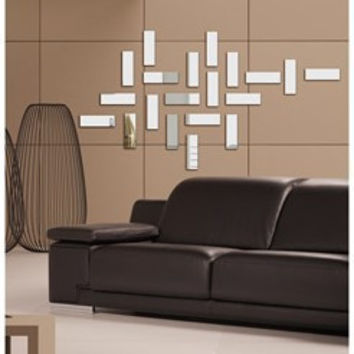 Mirror Decoration Sofa Wall Sticker [6283172550]