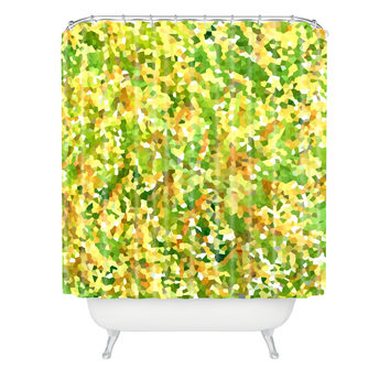 Rosie Brown Botanical Garden Shower Curtain