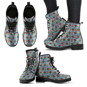 Labradoodle Flower Boots