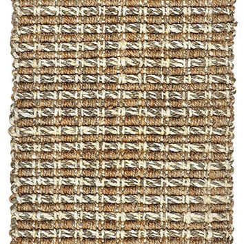 Timberhitch Jute Area Rug in Taupe and Natural design by Classic Home
