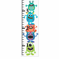 Little Monsters Canvas Growth Chart