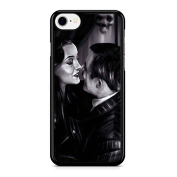 Morticia And Gomez - The Addams Family iPhone 8 Case