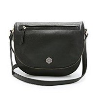 Tory Burch Brody Saddle Bag in Black