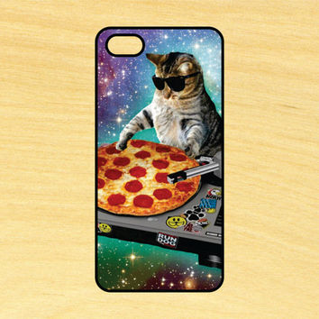 Dj Pizza Cat Version 2 iPhone 4/4S 5/5C 6/6+ and Samsung Galaxy S3/S4/S5 Phone Case