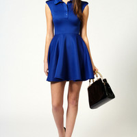Betty Pocket Detail Sleeveless Skater Dress