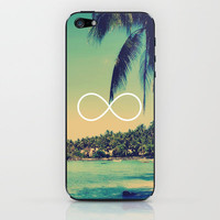 Forever Summer Vintage Beach Infinity iPhone & iPod Skin by RexLambo | Society6