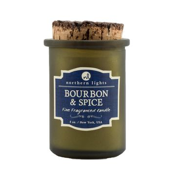 Spirit Jar Craft Cocktail Candle -- Bourbon & Spice
