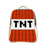 TNT Minecraft Gamer Backpack (2015 New Arrival)