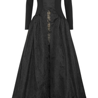 Alessandra Rich - Crepe, taffeta and lace gown