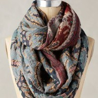 Ankita Infinity Scarf by Anthropologie in Navy Size: One Size Scarves