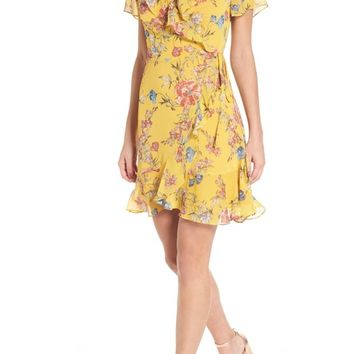 Colie Ruffle Wrap Dress   Nordstrom
