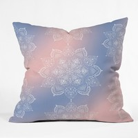 Lisa Argyropoulos Winter Spirit Dreams Throw Pillow