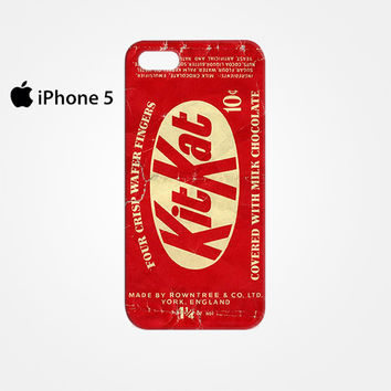 USA Rowntree KitKat 10 cent candy 1950s-1960s for Iphone 4/4S Iphone 5/5S/5C Iphone 6/6S/6S Plus/6 Plus 3D Phone case