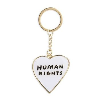 Human Rights Heart -- Keychain