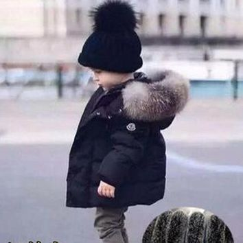 Trendy New Kids Toddler Boys Jacket Coats Thick Warm Down Children Outerwear Clothing Baby Boy Clothes Winter Child Windbreaker AT_94_13