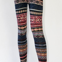 Winter Knit Leggings | Late Manta