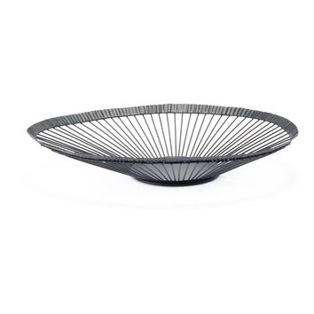 Black Web Small Tray