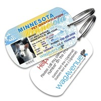 Minnesota Driver's License Pet Tag