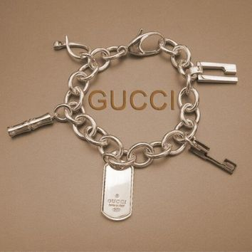 GUCCI 2018 spring and summer new women's tide brand fashion bracelet F--HLYS-SP