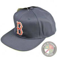 Boston Red Sox Snapback Hat | F as in Frank Vintage Clothing