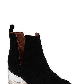 Jeffrey Campbell 'Musk' Lucite Heel Split Shaft Bootie (Women) | Nordstrom