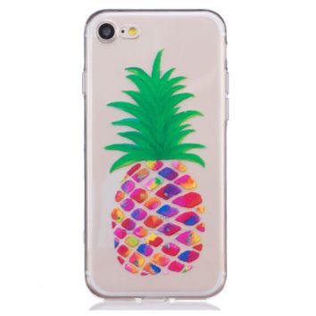 Colorful big pineapple Phone Case Cover for Apple iPhone 7 7 Plus 5S 5 SE 6 6S 6 Plus 6S Plus + Nice gift box! LJ160930-005