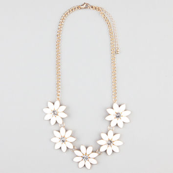 FULL TILT Flower Necklace 242881621 | Necklaces