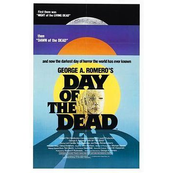 Day Of The Dead Movie poster Metal Sign Wall Art 8in x 12in