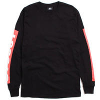 Stussy International Longsleeve T-Shirt Black