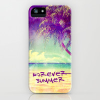 FOREVER SUMMER - iPhone 5/5S Case by Simone Morana Cyla