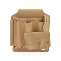 94600 - 9 Pocket Surveyor's Tool Pouch in Heavy Top Grain Leather