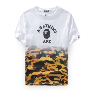 BAPE Leopard Slash Shirt