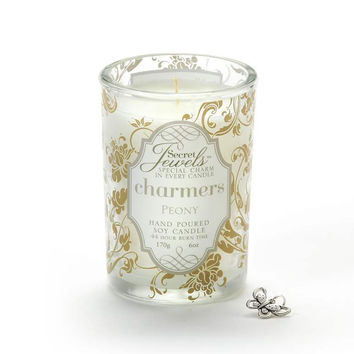 Secret Jewels Charmers Scented Candle, Peony