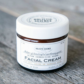 Ultra Rich Corrective Facial Cream - 100% VEGAN and FRAGRANCE-FREE