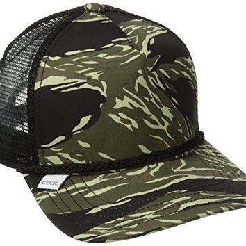 87f3eb814c657f Coal Men's Arnie Trucker Hat, Tiger Camo, One Size