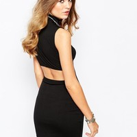 First & I | First & I Back Detail Body-Conscious Dress at ASOS