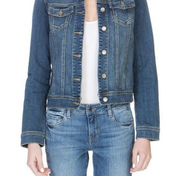 Classic Stretch Jean Jacket