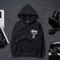 Couple Hoodies Winter Sports Cotton Pullover Hats [9302716807]