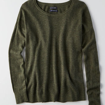 AEO Ahh-mazingly Soft Easy Sweater, Olive