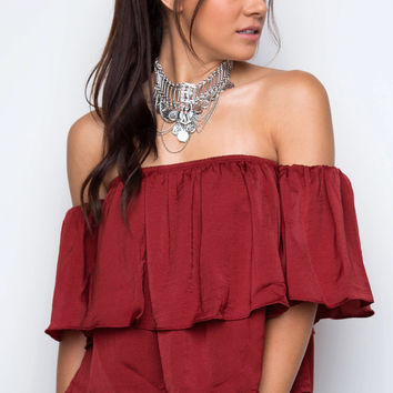 Halsey Off The Shoulder Top
