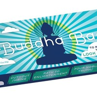 Buddha Bar - Includes Buddha trivia, checklists, and a cut out Buddhist shrine! - Whimsical & Unique Gift Ideas for the Coolest Gift Givers
