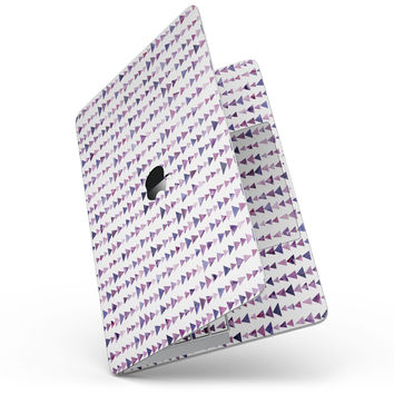 Purple Watercolor Triangle Pattern V2 - MacBook Pro without Touch Bar Skin Kit
