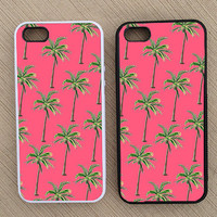 Cute Hipster Palm Tree Summer iPhone Case, iPhone 5 Case, iPhone 4S Case, iPhone 4 Case - SKU: 187
