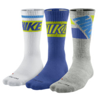 Nike Dri-FIT Fly Rise Crew Socks (Large/3 Pair)