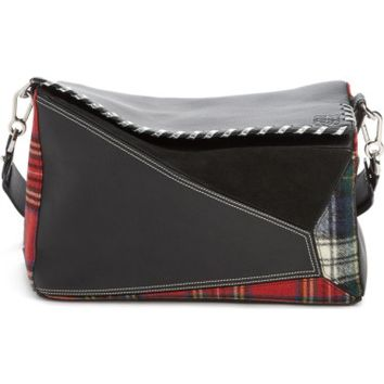 Loewe Medium Multi Tartan Puzzle Bag | Nordstrom