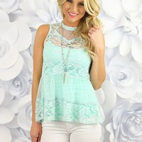 Lacy Love Affair Top