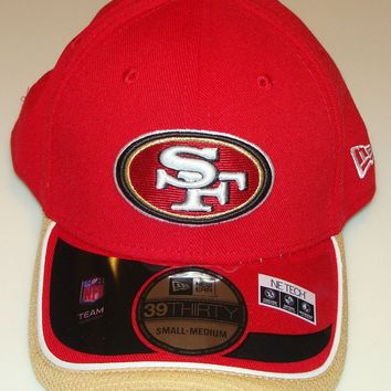 New Era Hat Cap NFL Football San Francisco 49ers New Era On-Field 39THIRTY M/L