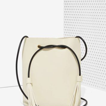 Paradigm Vegan Leather Bucket Bag